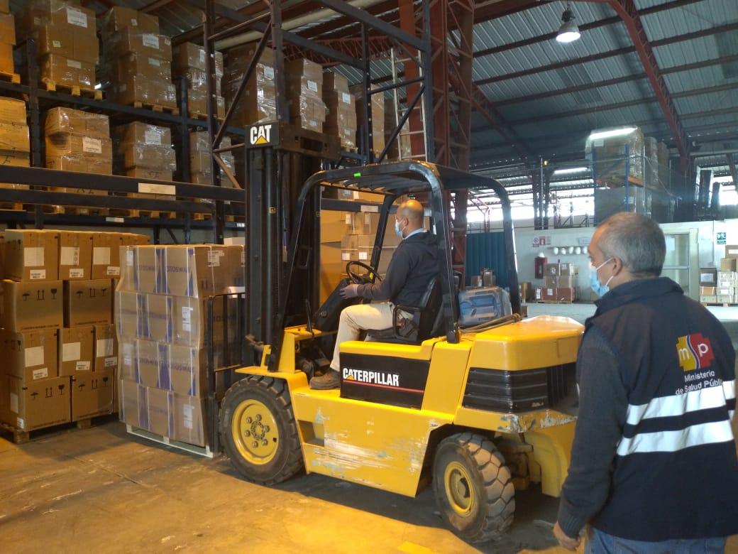 2da entrega de insumos MSP