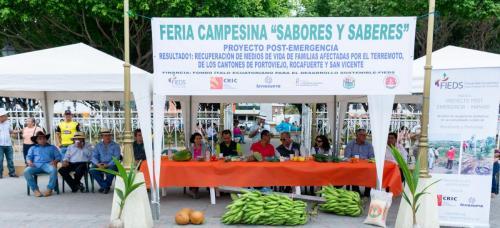 Mesa Directiva de Feria Campesina