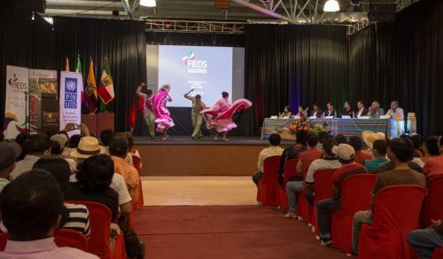 Evento de Lanzamiento del Proyecto de Post Emergencia en Montecristi