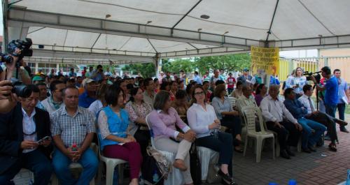 Evento de lanzamiento del Proyecto de Post Emergencia