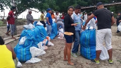 Entrega artes de pesca-Puerto  Cabuyal