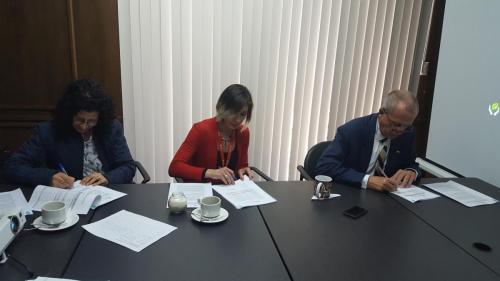 Firma Convenios de Financiamiento No Reembolsable para la ejecución del Proyecto de Post Emergencia