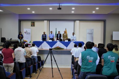 Taller de presentación del Proyecto de Post Emergencia y del Manual de Gestión
